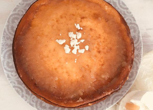 Tarta de queso de cabra hostelería
