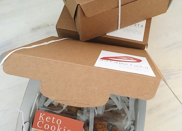 Caja Vegan keto cookies