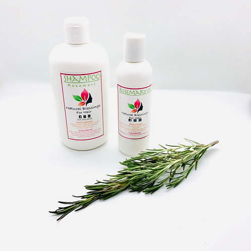 Growth & Dandruff Combo (Rosemary)