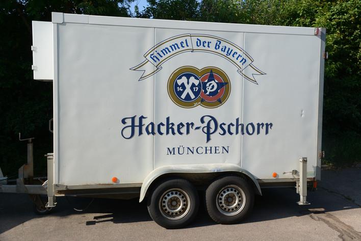 """Tandemkühlwagen """"Hacker-Pschorr"""""""