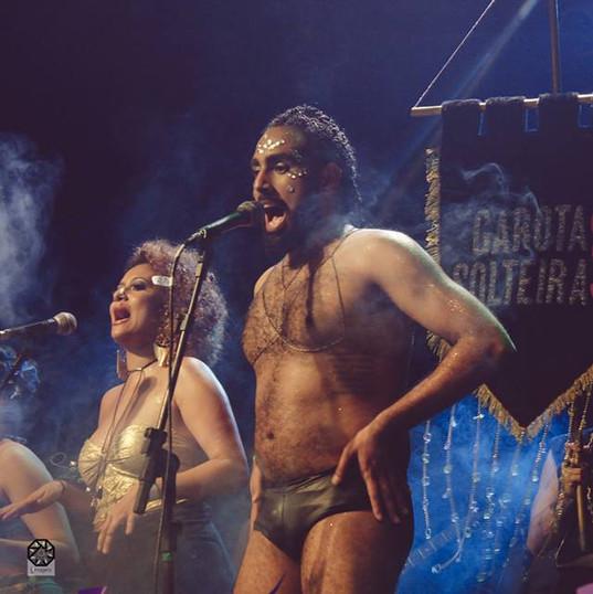 Apresentação da banda Garotas Solteiras na festa O Som Dessa Cidade, no Music Hall, em 2016