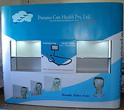 3 x 3 Straight magnetic popup with Shelf