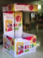 Tent kiosk print in Flex