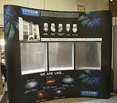 3 x 3 Curved magnetic popup with Shelf
