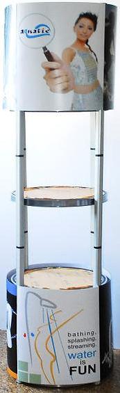 Round display stand