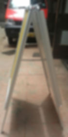 A board floor stand