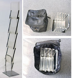 Plastic Brochure stand