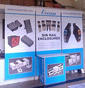 poster hanger booth with folding Promotion Table