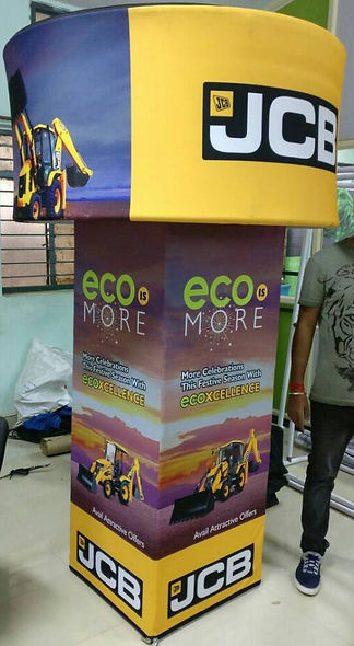 cloth banner stand