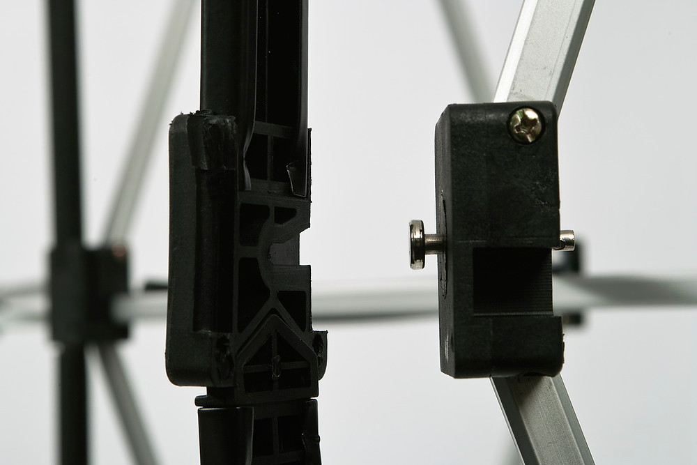 slide and lock system for strenght