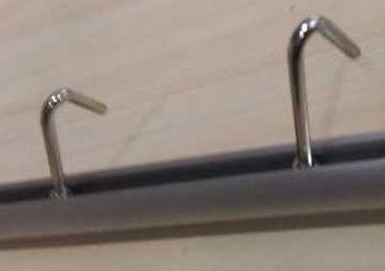 Poster hanger hooks