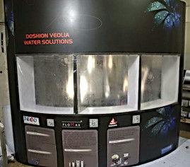 3 x 3 Curved Magnetic system back graphics
