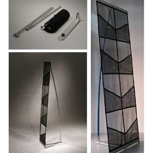 Netted Brochure stand