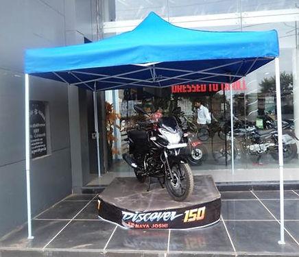 10 x 10 gazebo as display tent
