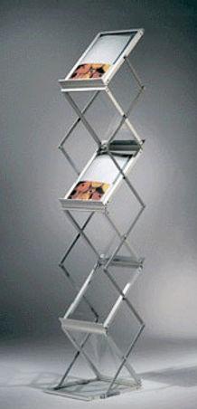 E type Brochure stand