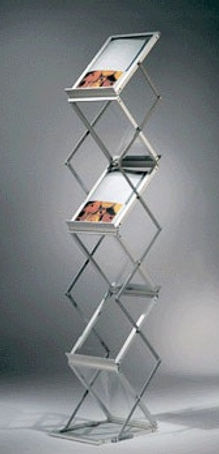 E type Brochure stand