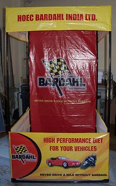 4 x 4 feet tent kiosk