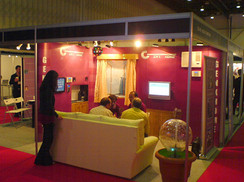 Special Magnetic Pop up booth