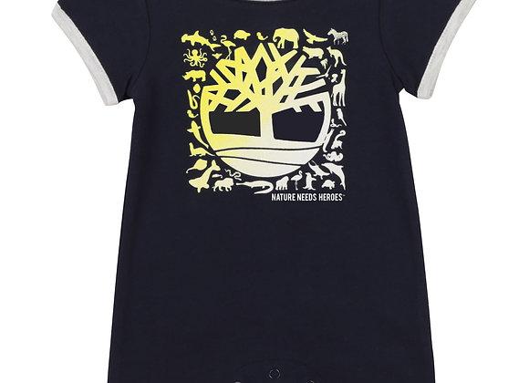 combi-short en coton Timberland