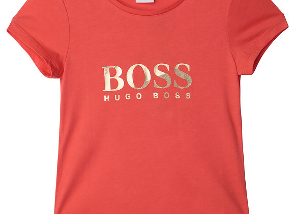 t-shirt en coton et modal BOSS