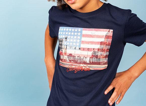 """t-shirt imprimé Californie""""Cali"""" Deeluxe"""