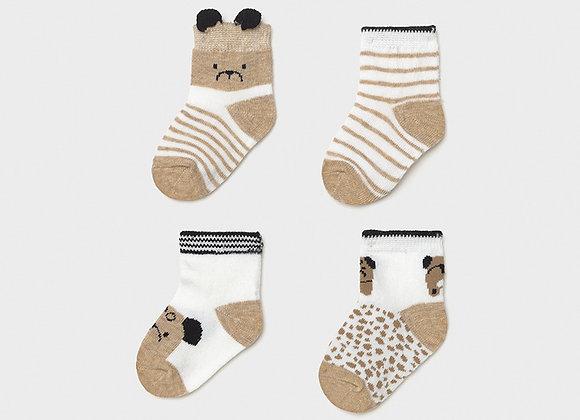 set de 4 paires de chaussettes nouveau né Mayoral
