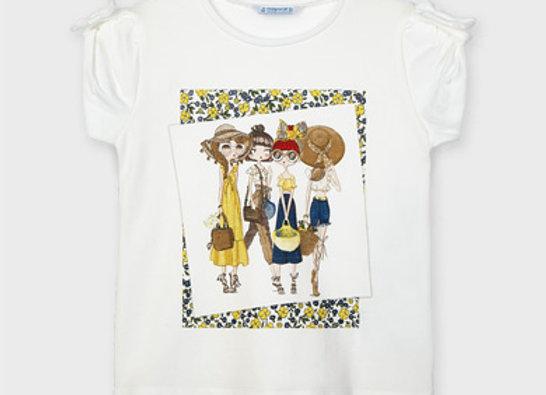 T-shirt manche courte liberty Mayoral