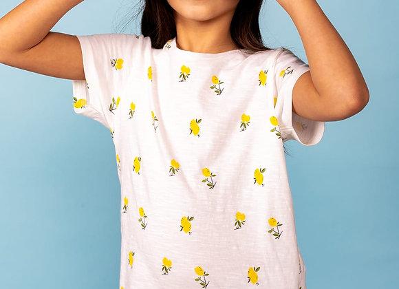 "t-shirt imprimés citrons ""Nady"" Deeluxe"