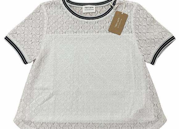 "t-shirt dentelle ""tibu"" Teddy Smith"