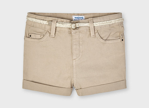 short en jean couleur camel Mayoral