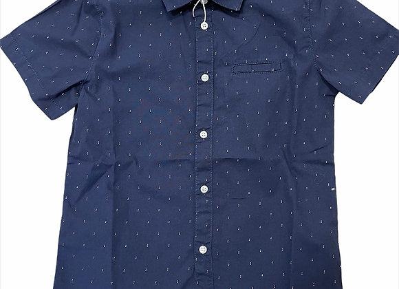 chemise manche courte micro imprimé Mayoral