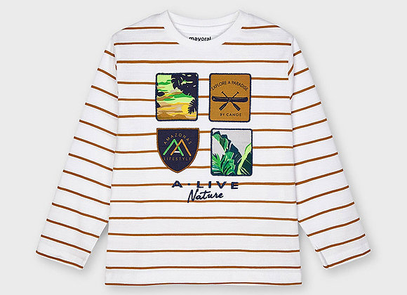 t-shirt manche longue Mayoral