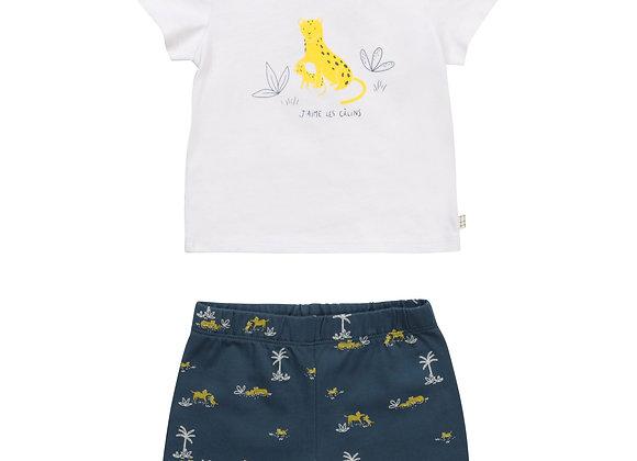 ensemble T-shirt+short coton Carrément Beau