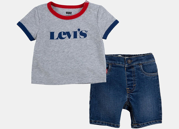 ensemble t-shirt+ short Levi's