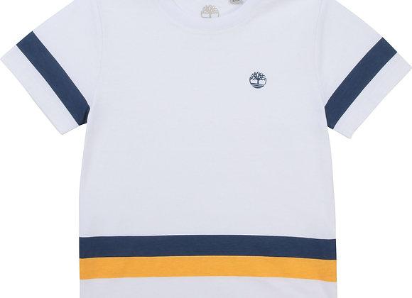 t-shirt en jersey de coton bio Timberland
