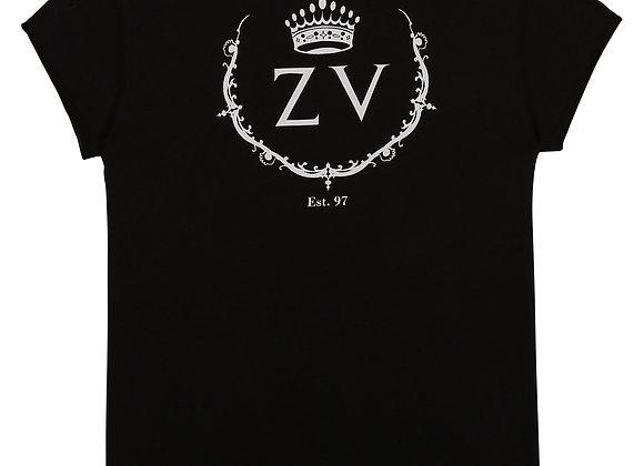 t-shirt à manches courtes noir Zadig&Voltaire