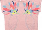 T shirt ample Billie Blush