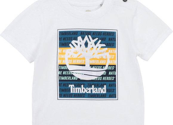 t-shirt en coton bio Timberland