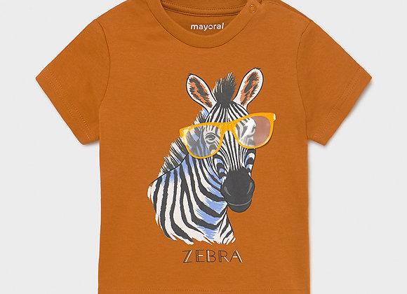 t-shirt zebre Mayoral