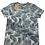 "Thumbnail: T-shirt feuillage ""Luc"" Teddy Smith"