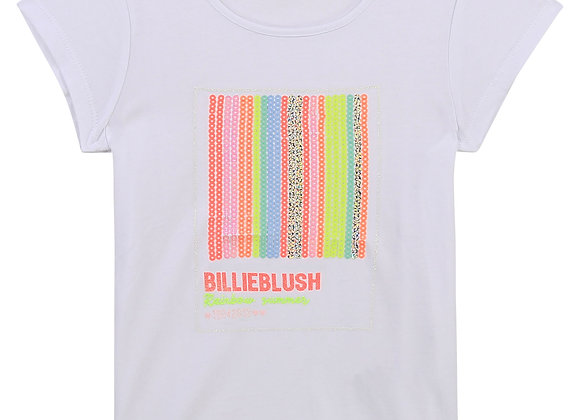t-shirt fantaisie avec sequins Billie Blush