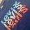 Thumbnail: t-shirt en coton bleu Levi's