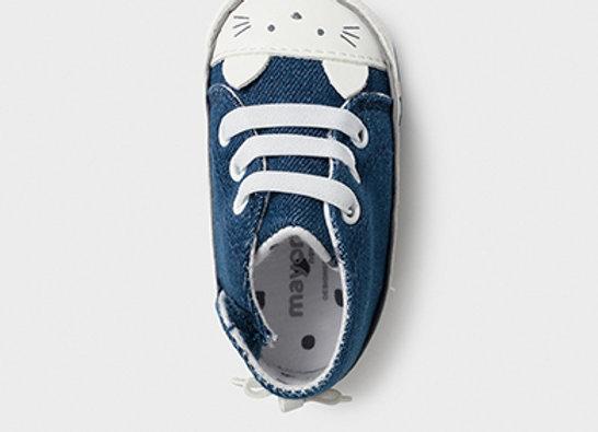 Chaussures chat nouveau né fille Mayoral