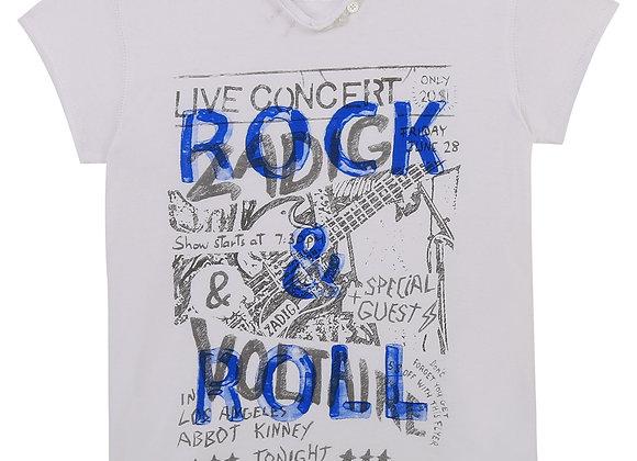 t-shirt en jersey manche brodée Zadig&Voltaire