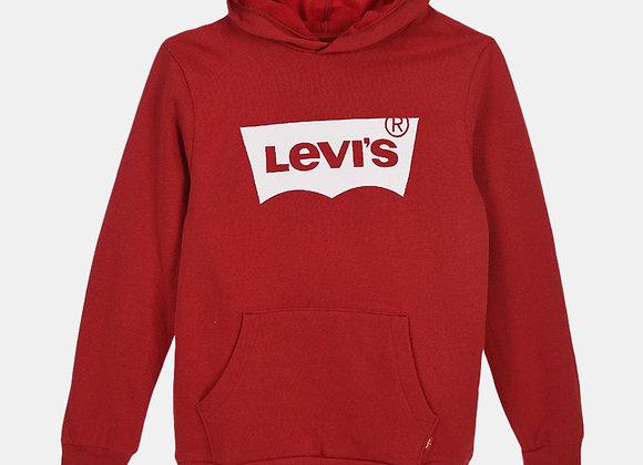 sweat à capuche rouge Levi's