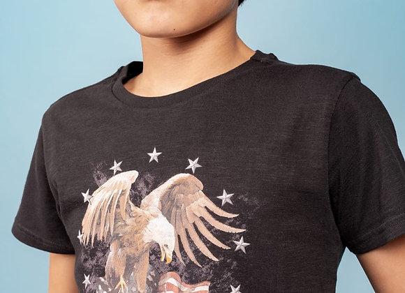 "t-shirt avec dessin aigle ""Eagles"" Deeluxe"