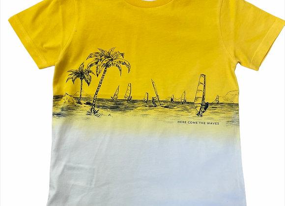 t-shirt dip dye Mayoral