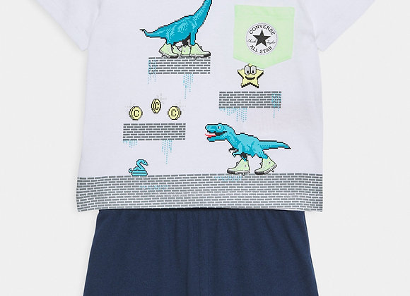 ensemble t-shirt+short Converse