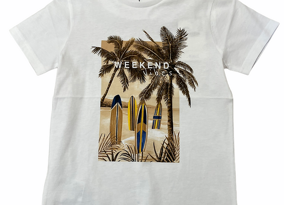 """t-shirt Ecofriends """"weekend vibes"""" Mayoral"""