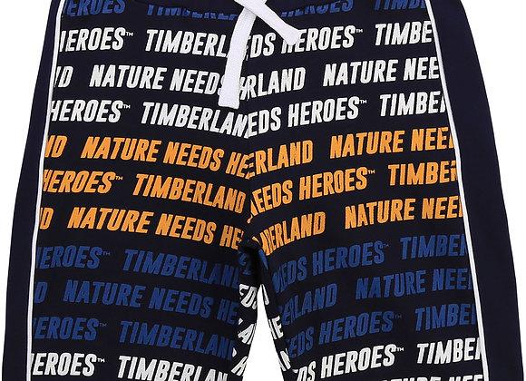 bermuda molletonné imprimé Timberland